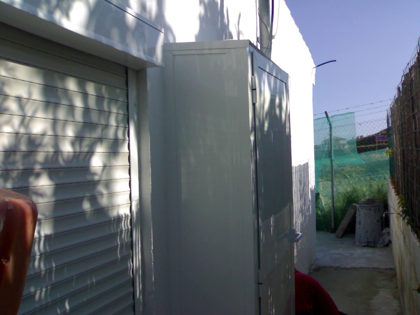 Armario de aluminio para exterior aluminios guti s c a - Armario calentador gas exterior ...